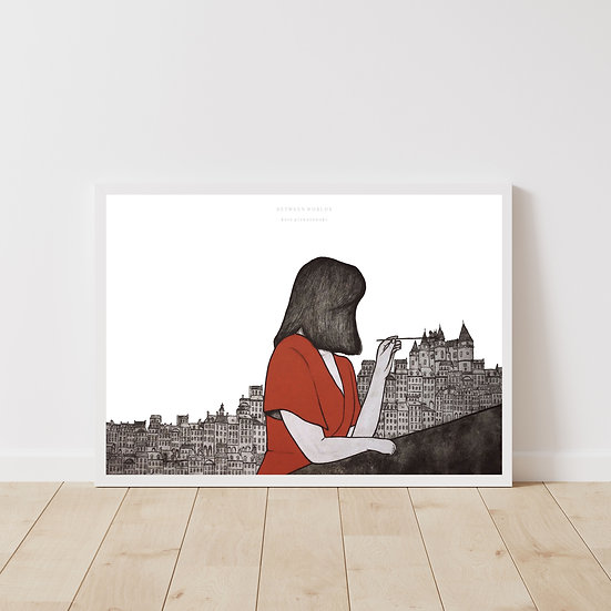 Between Me And You Giclée Print