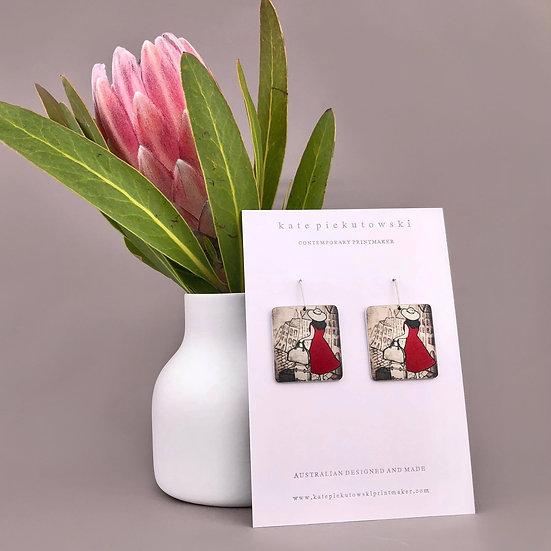 'The Traveller' Design Earrings