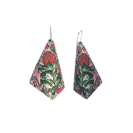 'Banksia Botanical' Aluminium Earrings
