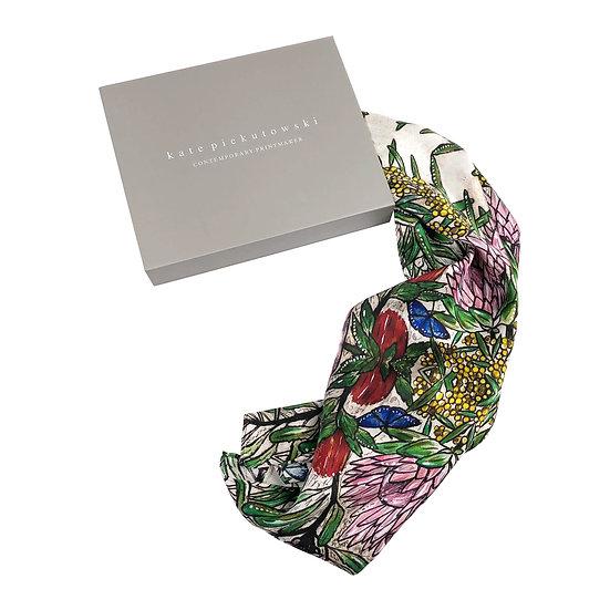 'Botanical' Silk Scarf