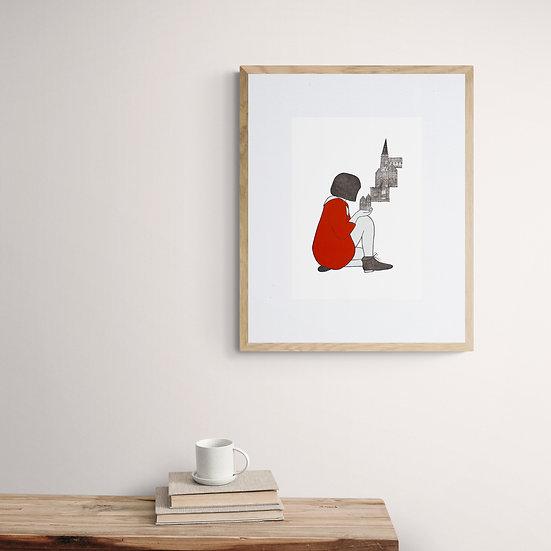 'Growing a Home' Giclée Print