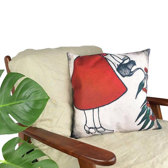 'Flourishing' Design Cushion