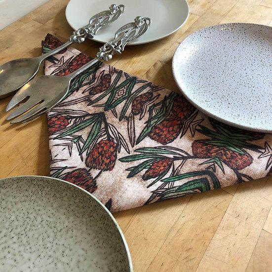 'Protea Design' Napkin set of 2