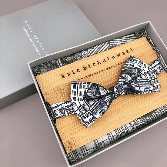 Architecture Silk Bow Tie