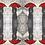 Thumbnail: Polka Dots In The Rain Silk Scarf