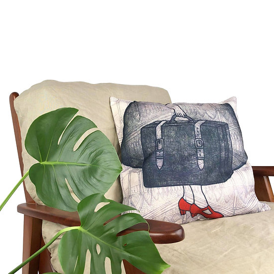 'Between Places' Cushion
