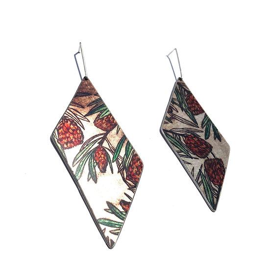 'Protea Design' Earrings