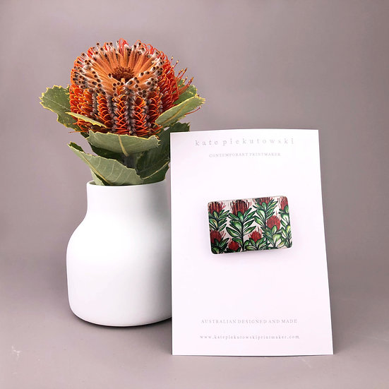 'Banksia' Brooch