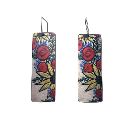 'Floral' Earrings