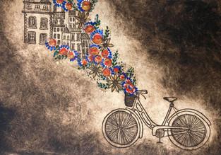 Lisboa Bicycle Triptych #2
