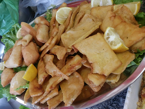 Panelle siciliane fritte