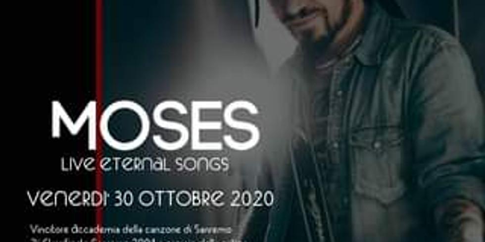 Moses Live Solo al Sanfy - Cena e spettacolo acustico