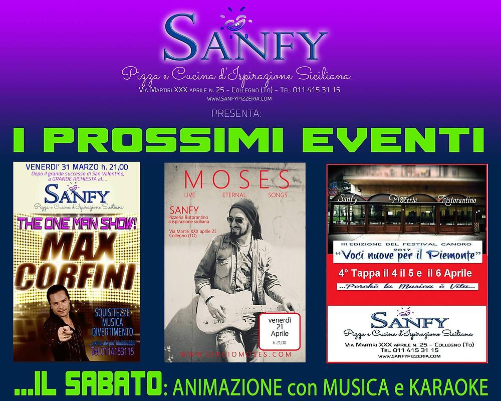 Gli eventi del Sanfy