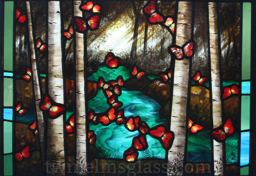 Butterflies In The Forest