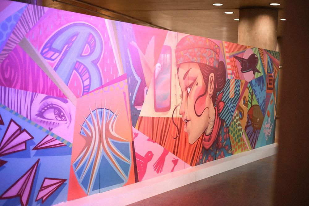 Grafite de Toys & Omik - Foto: Pedro Lino