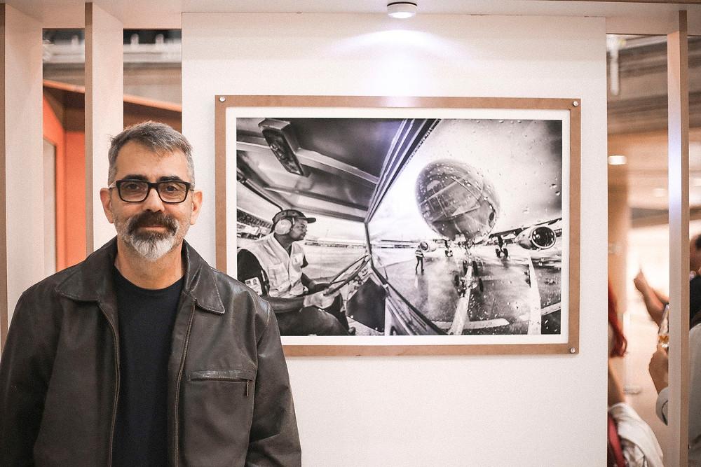 Nick El-moor, fotógrafo - Foto: Pedro Lino