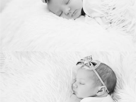 Sweet Mona Marie   Newborn Session