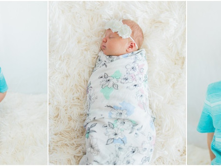 Micah + Brothers // Newborn Session