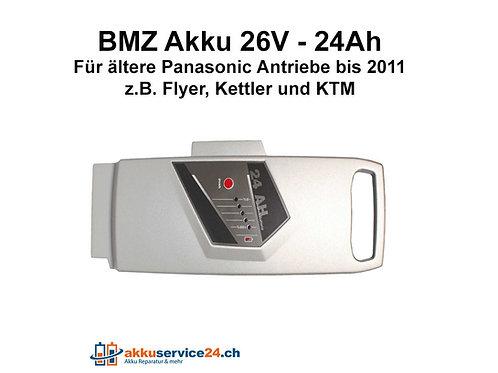 BMZ Akku für Panasonic Antriebe 26V 24Ah
