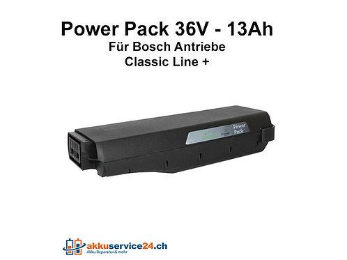 Power Pack für Bosch / Gepäckträger 36V 13Ah