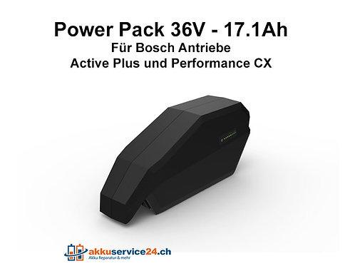 Rahmen-/Unterrohrakku für Bosch 36V - 17.1Ah