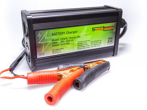 LiFePo 4 Battery Charger 12V 20A