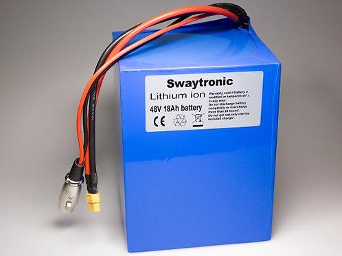 Sway-E-Bike Power 48V 13S9P 18'000mAh XT60
