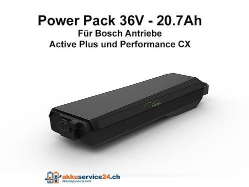 Gepäckträgerakku für Bosch 36V - 20.7Ah