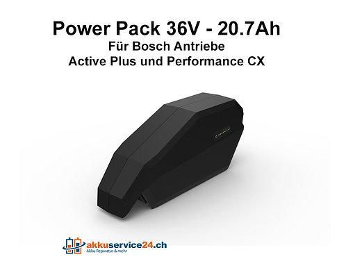 Rahmen-/Unterrohrakku für Bosch 36V - 20.7Ah