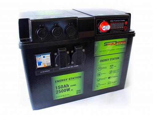 SWAYTRONIC - Energy Station 150Ah 2500W