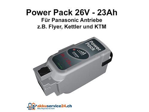 Power Pack für Panasonic Antrieb 26V 23Ah