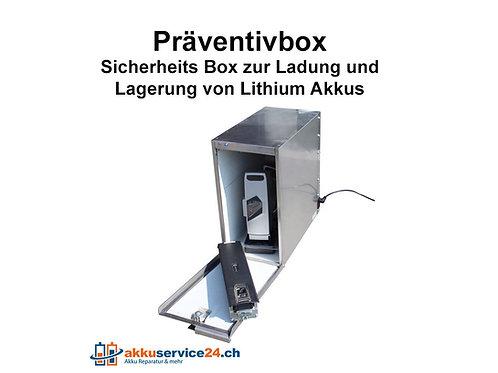 Präventivbox 2 für Lithium Akkus