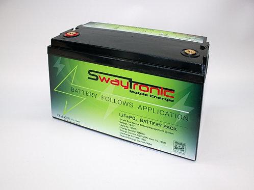 SWAYTRONIC LiFePO4 Speicherbatterie 12.8V 100Ah