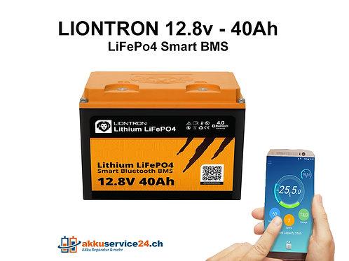 LIONTRON LiFePO4 12,8V 40Ah LX Smart BMS mit Bluetooth
