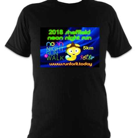 Neon Night Run 5km T-shirt