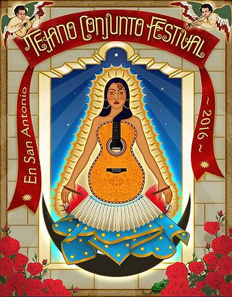 Tejano Conjunto poster 2016