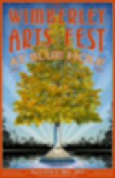 Wimberley Arts Festival poster