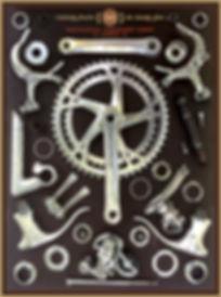 Miyata bike parts poster