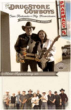 DrugStore Cowboys gig poster