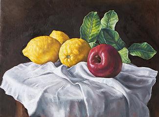 Peinture des fruits et légumes