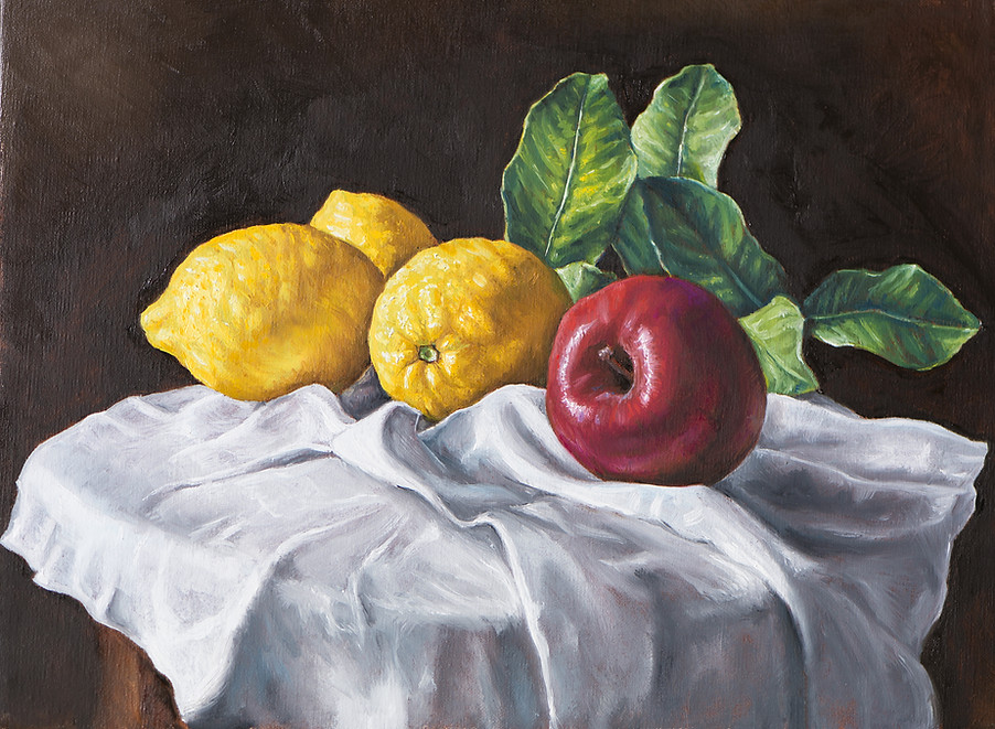 Painting of Fruits and Vegetables