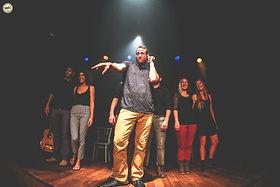 יונתן גרובר מאלתר במופע של שלופתא