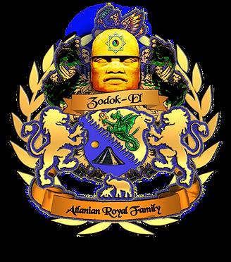 Zodok-El Atlanian Royal Crest Gold Plate