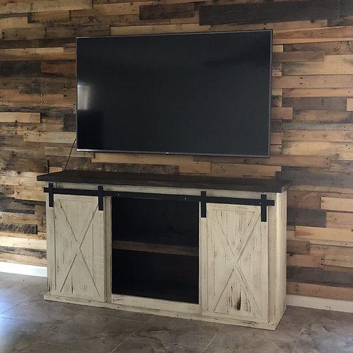 Custom Sliding 2-Door Buffet/TV Stand