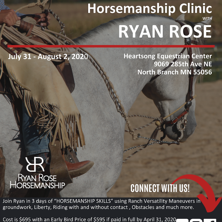 Minnesota 3 Day Clinic (7/31-8/2)