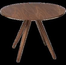 pheno-table-round-walnut-veneer-top-with