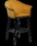 kite-bar-stool-bronze-velvet-with-black-