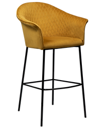 kite-bar-stool-bronze-velvet-with-black-