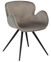 gaia-chair-alu-velvet-with-black-conical