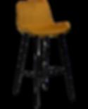 hype-bar-stool-bronze-velvet-with-black-